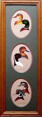 Mallard/pintail/wood Duck/ducks Unlimited/duck Decoy/sporting Art/lodge Hanging