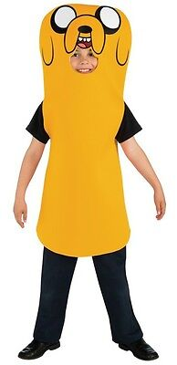 Child TV Show Adventure Time Finn's Brother Stretchy Friend Jake the Dog Costume (Finn Jake Costume)