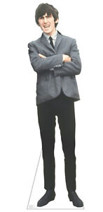 THE-BEATLES-GEORGE-HARRISON-LIFESIZE-CARDBOARD-STANDUP-STANDEE-CUTOUT-POSTER
