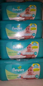Pampers baby wipes Natural Clean