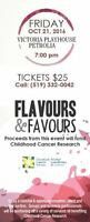 Flavours and Favours for Childhood Cancer Research