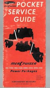 Mercury pocket guide 80 to 325
