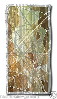 Abstract Metal Wall Art Modern Home Decor Contemporary Wall Sculpture