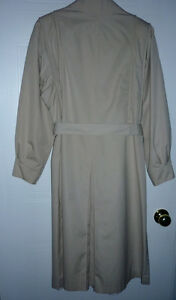 Trench Coat - size 12 - 14 : Excellent Condition Cambridge Kitchener Area image 2