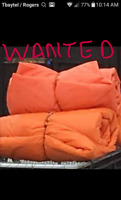 Wanted Insulated tarps