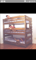 Build me some bunkbeds please!