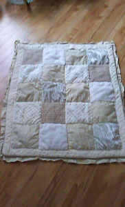Baby quilt from co-op