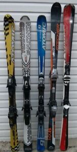 Used skis, snowboards and boots for sale or trade