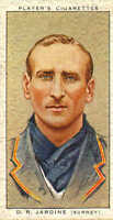 D.r.jardine ( Surrey ) 1934 Number 15 - player's - ebay.co.uk