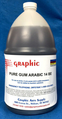 PURE GUM ARABIC 14 BE 1 GALLON