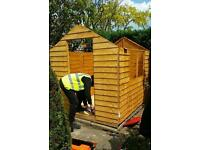 HD Building Services Supplier & Installer of Fence Panels, Garden Work, Shed Erecting and more