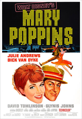 Mary Poppins - Movie Poster Print