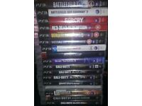 Ps3 super slim 500Gb 18 games and one controller