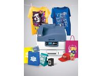 Digital White Ink Printing / Card, T-shirt, Menu / Bow E3 2SE