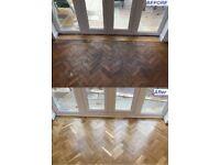 Wooden Floor Restoration - Sand and Seal