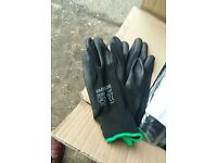 Work gloves light use ideal builder mechanic etc size 10 240 pairs