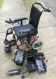 Roma medical electric powered wheelchair battery box left right hand motor wheels 24v charger spares