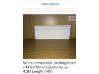 Skirting board torus £2 per metre. 96 metres available.