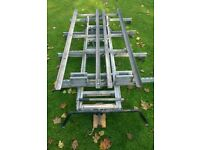 Bri-Stor Double Ladder Rack and Roof Bars