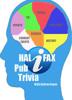 Halifax Pub Night trivia with Andrew Evans at the Red Stag!