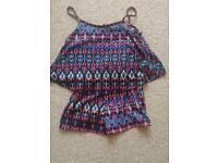 Girls playsuit 7-8 years