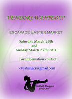 Vendors wanted for two day market