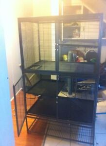 2 tier ferret nation cage