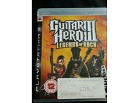 Ps3 game guitar hero