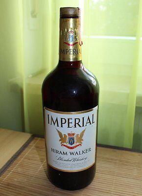 r Blended Whiskey 70er Jahre Vintage ungeöffnet alter Whisky (Imperial Walker)