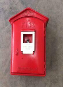 Vintage street fire box