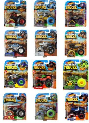 Hot Wheels Monster Trucks Assortment 1:64 Diecast You Choose *Updated 7/12/21*