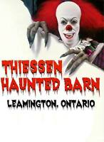 Thiessen haunted barn is looking for a passionate haunt builder