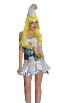 - Blau Weiß Kleid Kostüm