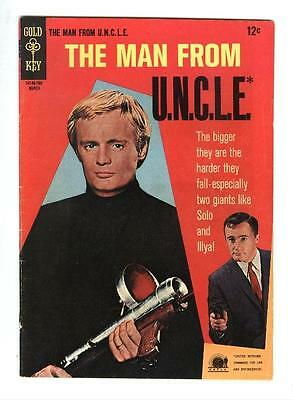 Man From Uncle 11  Fn Vf  3 Story Giant Affair  Free Shipping With Bin