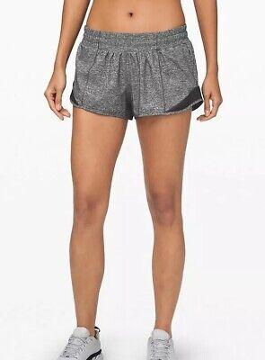 lululemon Hotty Hot Shorts Grey US 6/UK 10