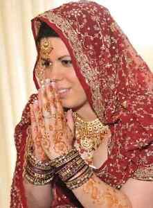 Robe mariée indienne