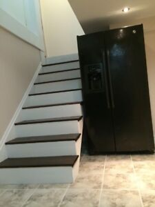 2 bed basement apartment in Pickering