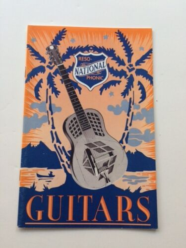 Vintage  National guitar catalog 1994-95 w/price list  Style O , Resolectric