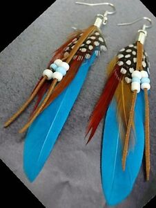 Native Art Earrings made by hand by local Artisan Yellowknife Northwest Territories image 7