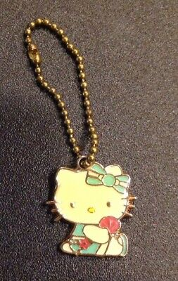 Sanrio Hello Kitty Enamel Keychain Small, Dated 2007