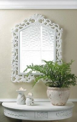 Shabby Chic Bathroom Decor Glam Vainglory Mirror Bedroom White Wall Room Free Gift