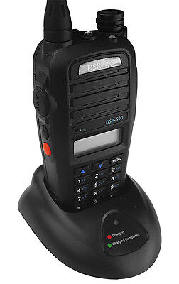 3-mile Programmable Vhf Portable Radio Walkie Talkie Fcc Approved