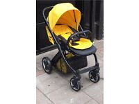 "BABY PUSH CHAIR ""OYSTER"""