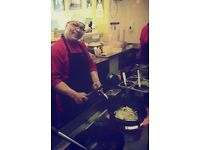 KITCHEN ASSISTANT we privide a training program to become a WOK CHEF