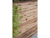 Dorset oak fence panels