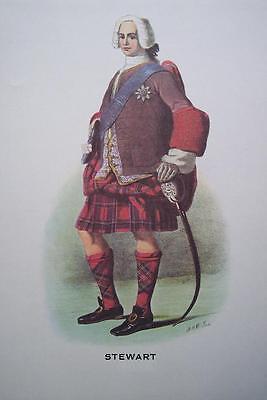 Clan Stewart - Scottish Tartan Art Print - (Stewart Clan Tartan)