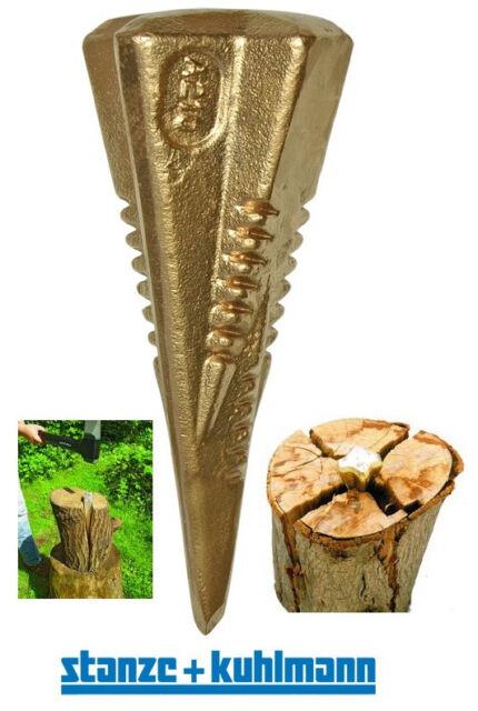 Spaltbombe - Gold !  >>>Spaltet in 4 Richtungen<<< Spaltkeil , Holzspalter...