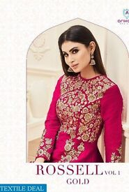 arihant-rossell-vol-1-Gold-Wholesale-Designer-Wear-Suits