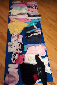 Baby Girl Clothes 0-3mo selling for $25.00.