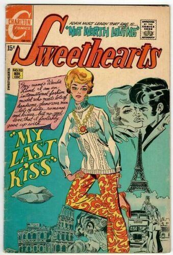 🚚 Sweethearts No.113 Charlton 15c Bronze-Age Romance Comic Nov. 1970 in 5.0